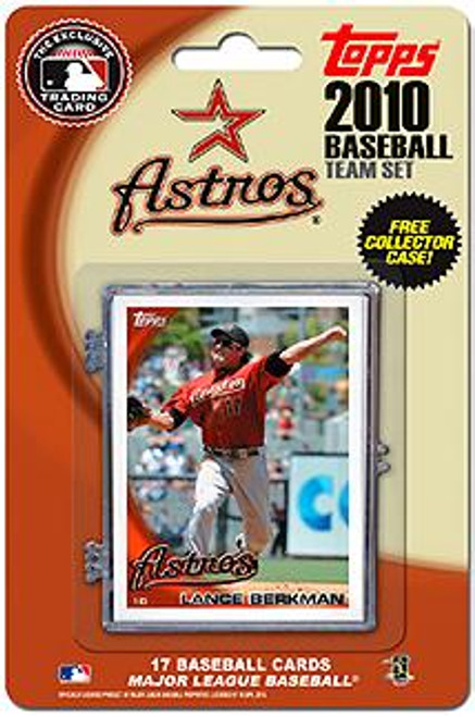 MLB 2010 Topps Baseball Cards Houston Astros Exclusive Team Set