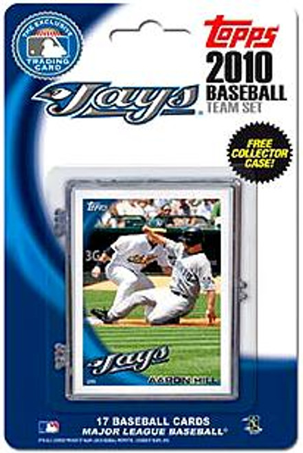 MLB 2010 Topps Baseball Cards Toronto Blue Jays Exclusive Team Set