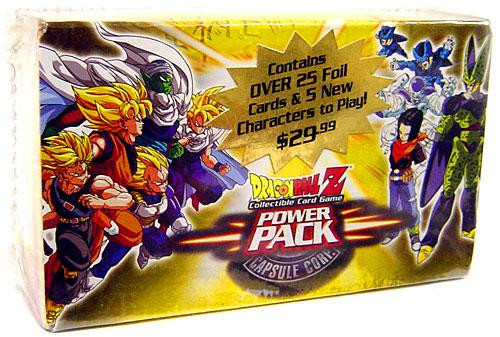 Dragon Ball Z Collectible Card Game Capsule Corp. Power Pack Power Pack [Yellow Box]