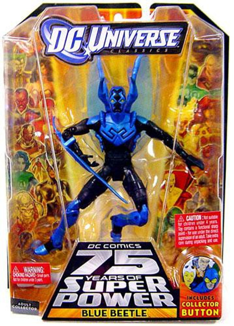 DC Universe 75 Years of Super Power Classics Blue Beetle Action Figure