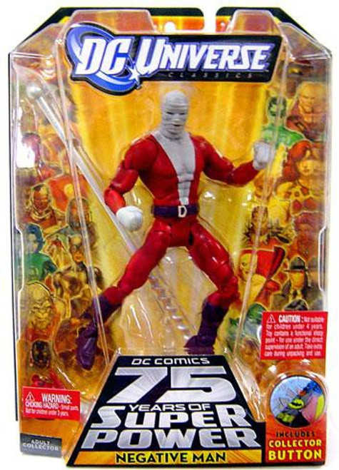 DC Universe 75 Years of Super Power Classics Negative Man Action Figure [With Bandages]