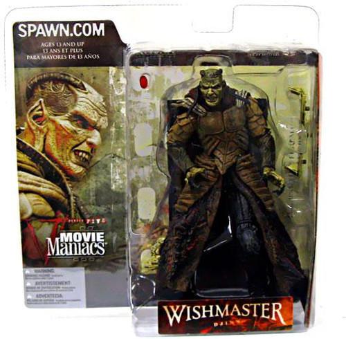 McFarlane Toys Movie Maniacs Series 5 The Wishmaster Djinn Action Figure