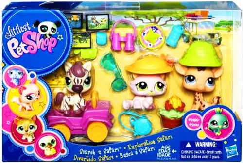 Littlest Pet Shop Search N' Safari Mini Figure Playset