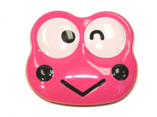 Hello Kitty Keroppi Sours Candy Tin [Pink]
