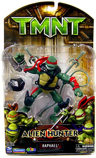 Teenage Mutant Ninja Turtles TMNT Alien Hunter Raphael Action Figure