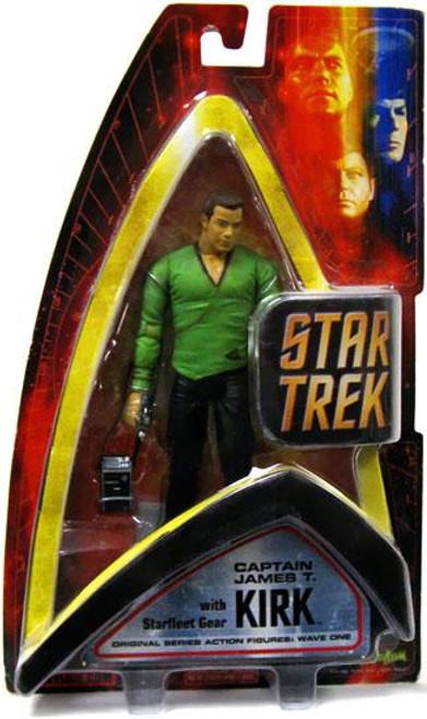 Star Trek The Original Series Wave 1 Captain Kirk Action Figure