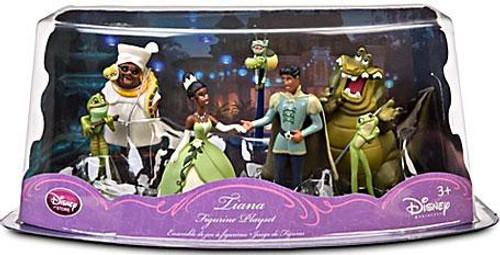 Disney The Princess and the Frog Exclusive Figurine Playset