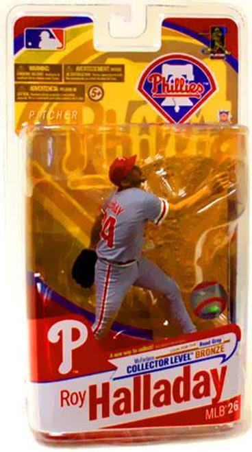 McFarlane Toys MLB Sports Picks Series 26 Roy Halladay (Philadelphia Phillies) Action Figure [Gray Jersey]
