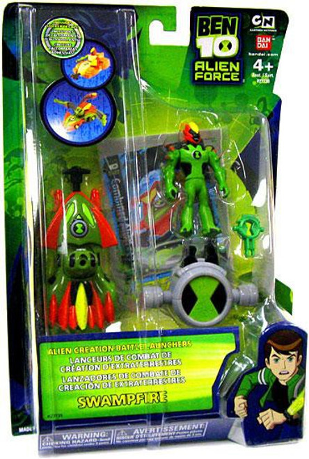 Ben 10 Alien Force Alien Creation Battle Launchers Swampfire Action Figure