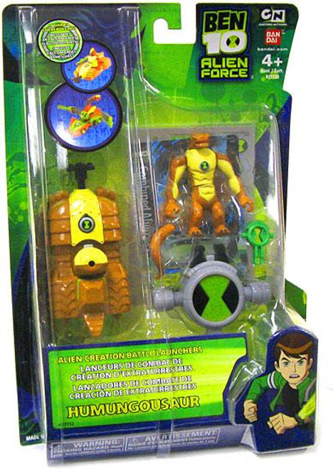 Ben 10 Alien Force Alien Creation Battle Launchers Humungousaur Action Figure