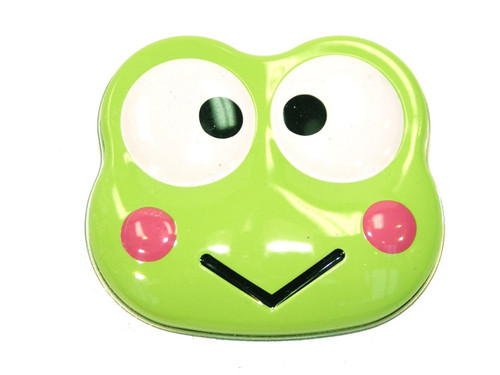 Hello Kitty Keroppi Sours Candy Tin [Green]