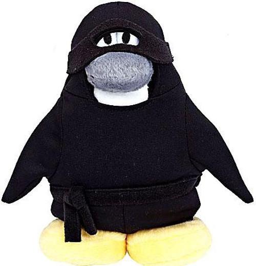 Club Penguin Series 6 Ninja 6.5-Inch Plush Figure [Version 2]