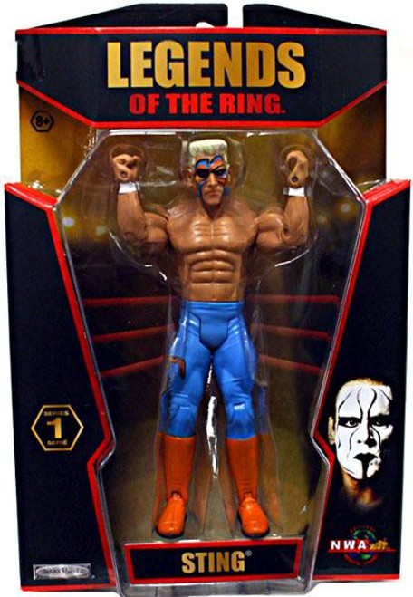 TNA Wrestling Legends of the Ring Series 1 Sting Action Figure