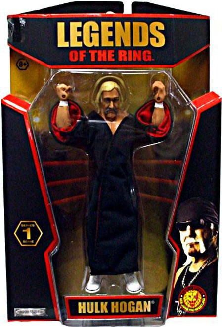 TNA Wrestling Legends of the Ring Series 1 Hulk Hogan Action Figure [NWA]