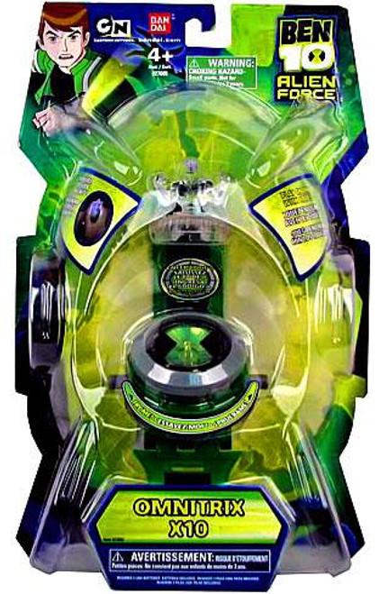 Ben 10 Alien Force Watch Omnitrix X10 Roleplay Toy