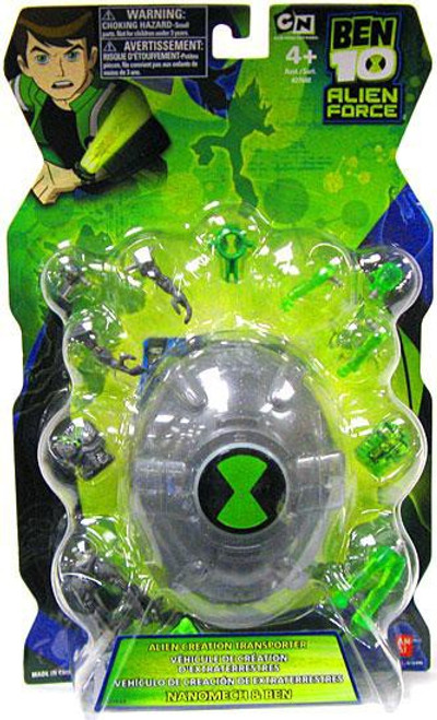Ben 10 Alien Force Alien Creation Transporter Set [Silver]