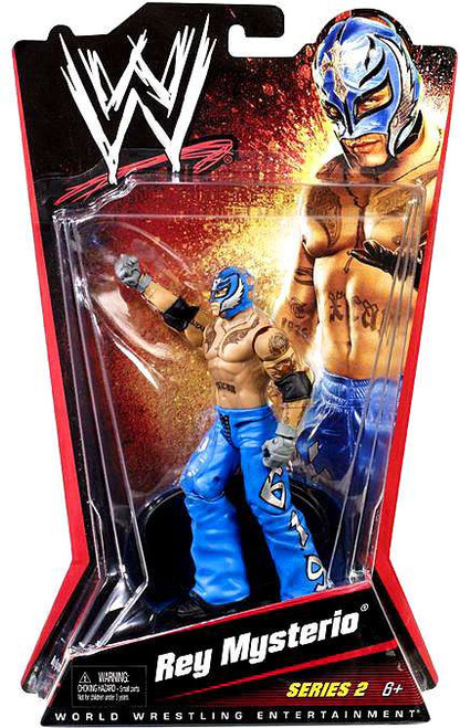 WWE Wrestling Series 2 Rey Mysterio Action Figure