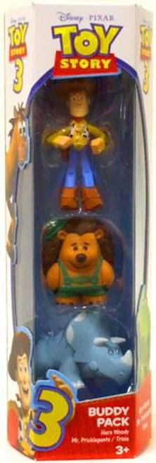 Toy Story 3 Trixie, Hero Woody & Mr. Pricklepants Mini Figure 3-Pack
