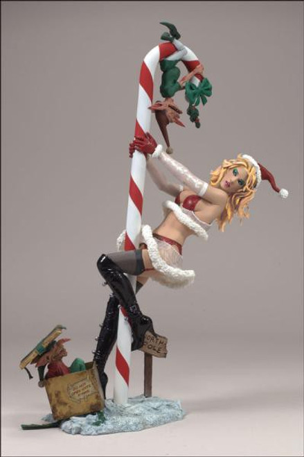 McFarlane Toys McFarlane's Monsters X-Mas Mrs. Claus Exclusive Action Figure [Blonde Hair]
