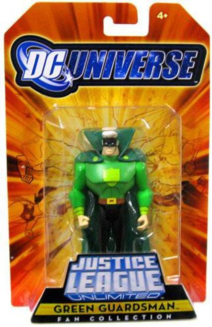 DC Universe Justice League Unlimited Fan Collection Green Guardsman Exclusive Action Figure