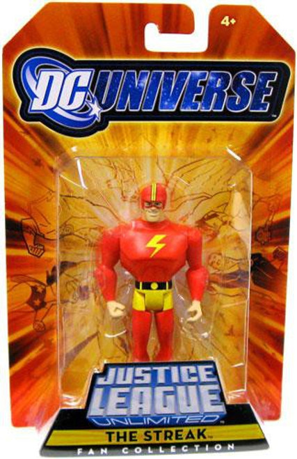 DC Universe Justice League Unlimited Fan Collection The Streak Exclusive Action Figure