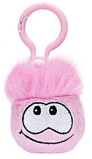 Club Penguin Pink Puffle 2-Inch Plush Clip On