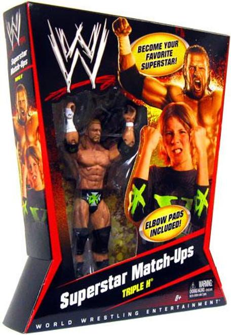 WWE Wrestling Superstar Match-Ups Triple H Action Figure
