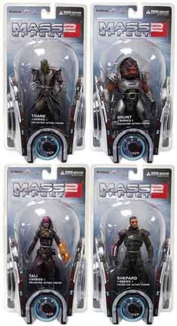 Mass Effect 2 Series 1 Set of 4 Action Figures