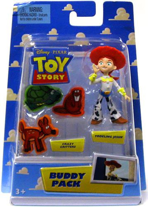 Toy Story Buddy Pack Crazy Critters & Yodeling Jessie Mini Figure 2-Pack