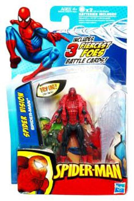 Spider-Man 2010 Spider Vision Spider-Man Action Figure
