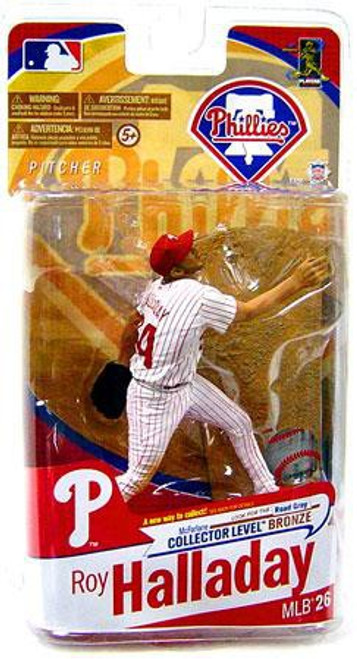 McFarlane Toys MLB Philadelphia Phillies Sports Picks Series 26 Roy Halladay Exclusive Action Figure [White Jersey]