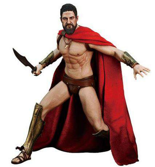 300 Movie Masterpiece King Leonidas 1/6 Collectible Figure
