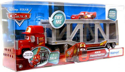 Disney Cars Playsets Talking Mack Transporter Exclusive Diecast Car Playset