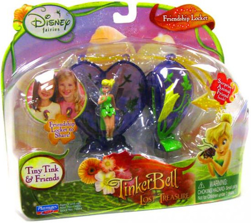 Disney Fairies Tinker Bell & The Lost Treasure Tiny Tink & Friends Friendship Locket Playset