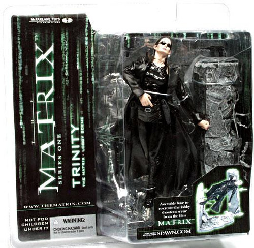 McFarlane Toys The Matrix Series 1 Trinity Action Figure