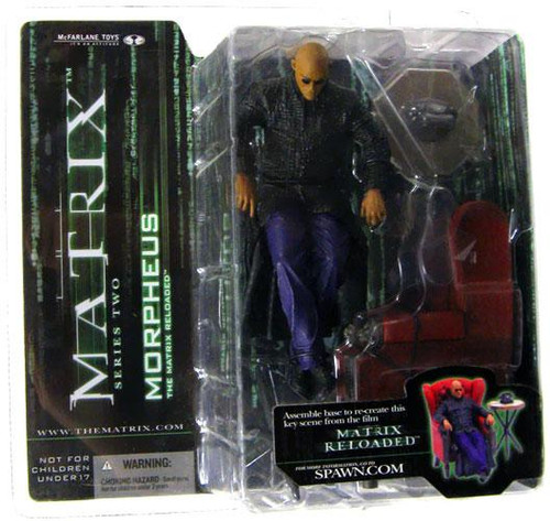 McFarlane Toys The Matrix Matrix Reloaded Series 2 Morpheus Action Figure