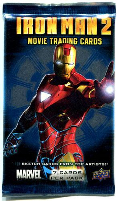 Iron Man 2 Movie Trading Card Pack
