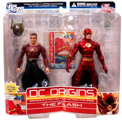 DC Origins Series 2 The Flash Action Figure 2-Pack