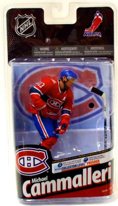 McFarlane Toys NHL Montreal Canadiens Sports Picks Series 24 Michael Cammalleri Action Figure [Red Jersey Variant]