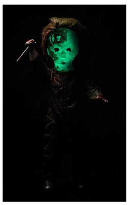 Living Dead Dolls Friday the 13tth Michael Myers Doll [Halloween II, Glow-in-the-Dark]