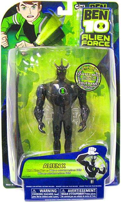 Ben 10 Alien Force DNA Alien Heroes Alien X Action Figure