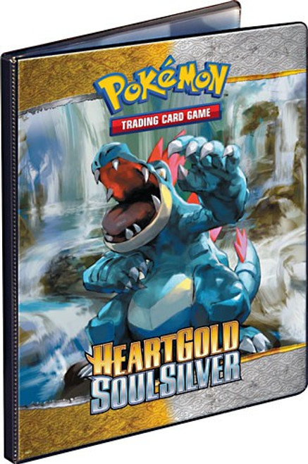 Ultra Pro Pokemon HeartGold & Soulsilver Card Supplies Heartgold Soulsilver 9-Pocket Binder