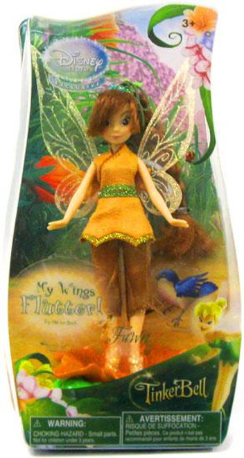 Disney Fairies Tinker Bell Fluttering Wings Fawn Exclusive 5-Inch Figure