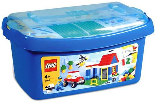 LEGO Large Blue Brick Box Set #6166