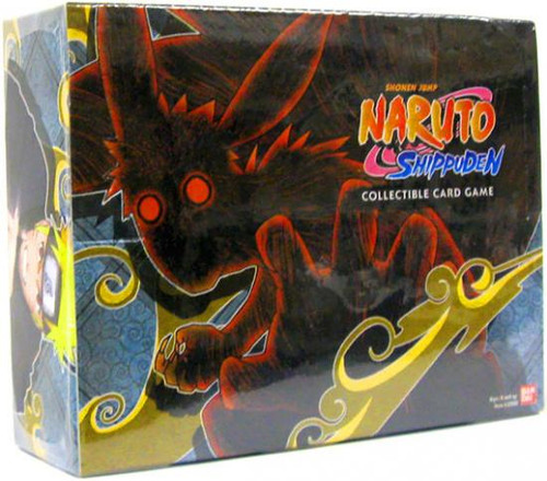 Naruto Shippuden Card Game Emerging Alliance Booster Box [24 Packs]