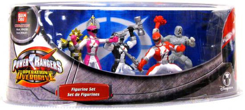 Operation Overdrive Power Rangers Exclusive PVC Figurine Set