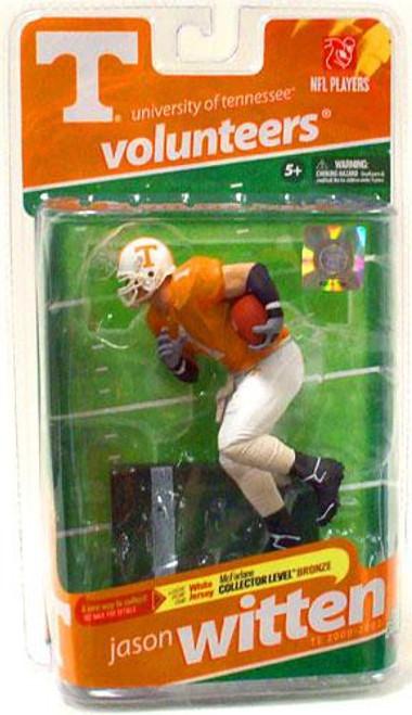 McFarlane Toys NCAA College Football Sports Picks Series 2 Jason Witten Action Figure [Orange Jersey]