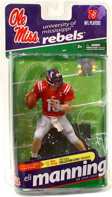 McFarlane Toys NCAA College Football Sports Picks Series 2 Eli Manning Action Figure