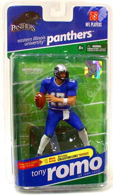 McFarlane Toys NCAA College Football Sports Picks Series 2 Tony Romo Action Figure [Blue Jersey]