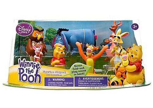 Disney Winnie the Pooh Figurine Playset Exclusive 5-Inch